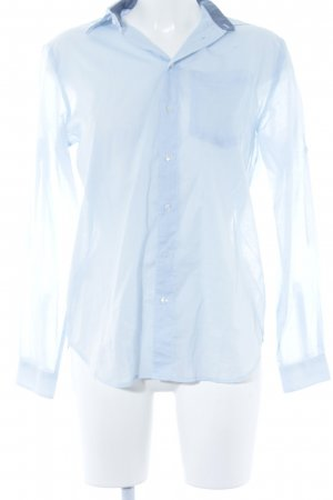 G-Star Raw Hemd-Bluse hellblau Business-Look