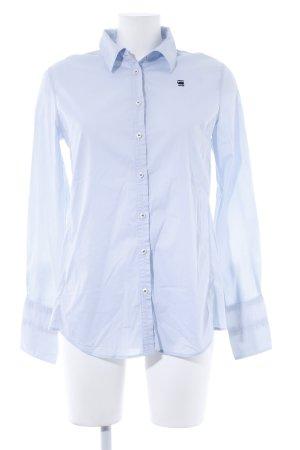 G-Star Raw Hemd-Bluse himmelblau Business-Look