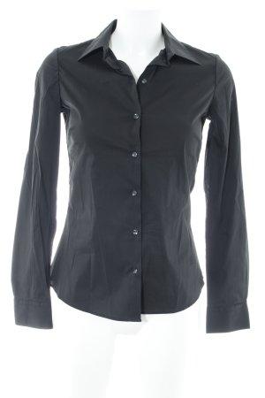 G-Star Raw Hemd-Bluse schwarz Business-Look