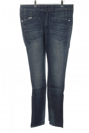 G-Star Raw Hoge taille jeans blauw-room casual uitstraling