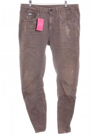 G-Star Raw Jeans a vita alta marrone stile casual