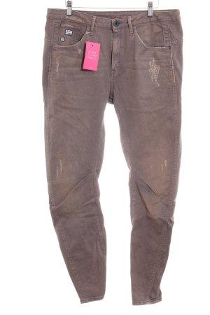 G-Star Raw High Waist Jeans braun Casual-Look