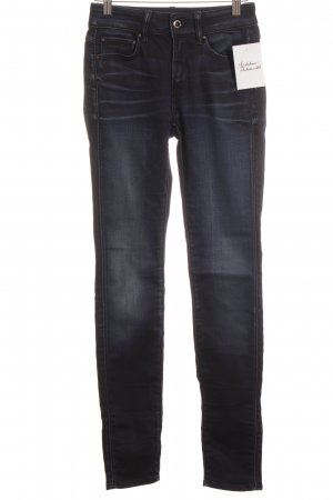 G-Star Raw High Waist Jeans dunkelblau-blau Casual-Look