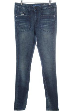G-Star Raw Hoge taille jeans korenblauw-staalblauw casual uitstraling