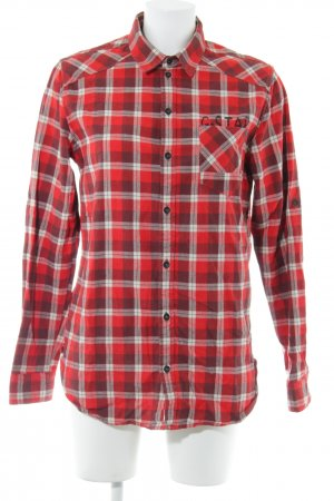 G-Star Raw Houthakkershemd geruite print casual uitstraling
