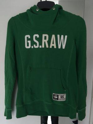 G-Star Raw Hooded Sweatshirt green-lime-green