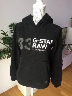 G-Star Raw Hoodie schwarz Gr S