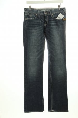 G-Star Raw Hüftjeans dunkelblau Used-Optik