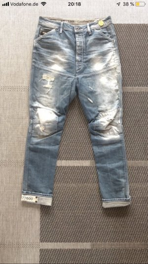 G-Star Raw Boyfriendbroek azuur