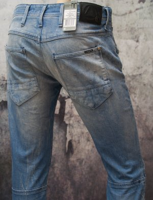 G-STAR RAW ~ JEANS MIDWOOD SLIM TAPERED WMN ~ SIZE W26/L32 NEU