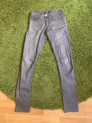 Gstar Jeans taille basse gris clair-gris