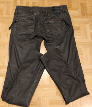 G-Star Raw Low-Rise Trousers anthracite cotton