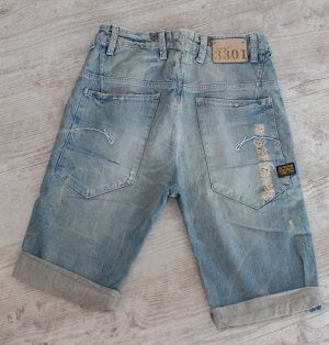 G-STAR RAW ~ JEANS SHORTS (UVP 169,90€) HANK LOOSE 1/2 ~ SIZE 26