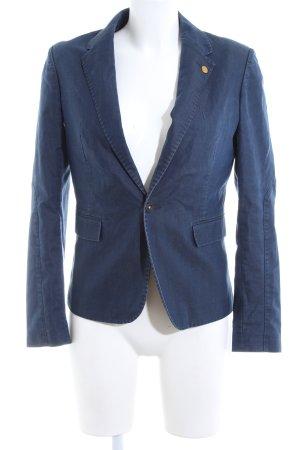 G-Star Raw Jeansblazer blau Business-Look