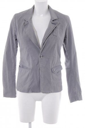 G-Star Raw Jeansblazer grau Webmuster Casual-Look