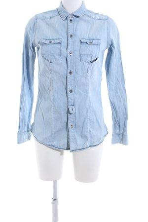 G-Star Raw Denim Blouse blue casual look