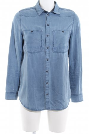 G-Star Raw Jeansbluse himmelblau Casual-Look
