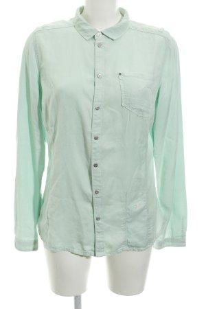 G-Star Raw Spijkershirt grijs-groen casual uitstraling