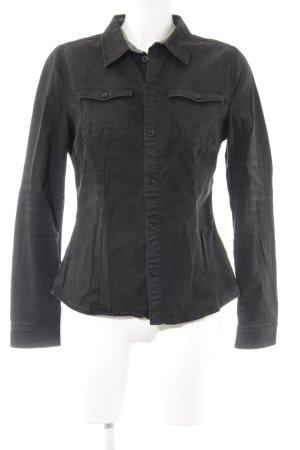 G-Star Raw Denim Shirt black flecked jeans look