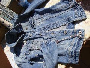 G-Star Raw Denim Jacket multicolored cotton
