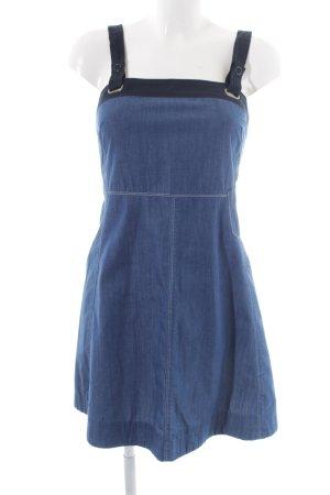 G-Star Raw Jeanskleid blau-schwarz Jeans-Optik