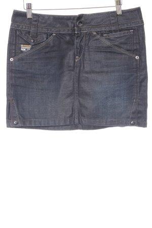 "G-Star Raw Jeansrock ""Exper Long Mini Skirt"" graublau"