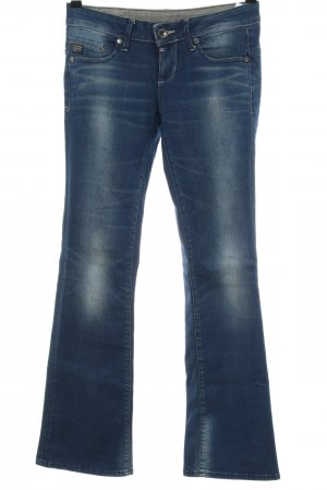 G-Star Raw Spijker flares blauw casual uitstraling