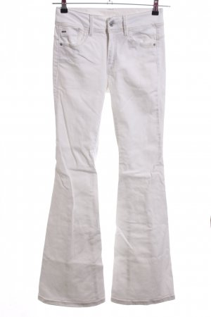 G-Star Raw Spijker flares wit casual uitstraling