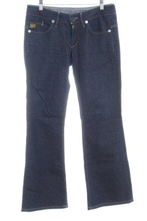 G-Star Raw Jeans flare bleu foncé style décontracté