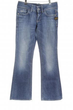 G-Star Raw Denim Flares steel blue-cornflower blue '90s style