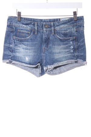 G-Star Raw Jeansshorts blau Casual-Look