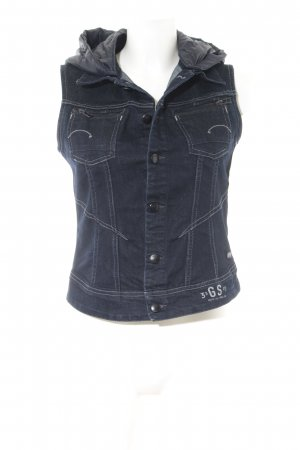 G-Star Raw Denim Vest dark blue street-fashion look