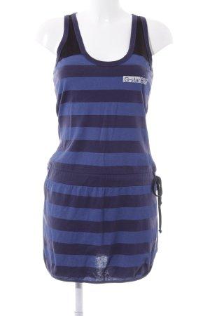 G-Star Raw Jerseykleid stahlblau-dunkelblau Streifenmuster Casual-Look