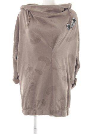 G-Star Raw Jersey con capucha nude estampado con diseño abstracto look casual