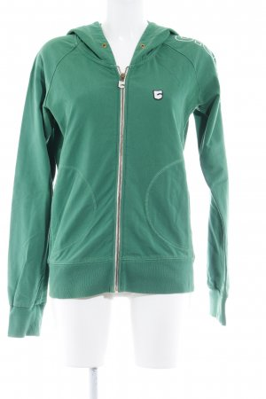 G-Star Raw Kapuzensweatshirt waldgrün-weiß Casual-Look