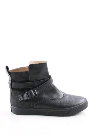 G-Star Raw Korte laarzen zwart casual uitstraling