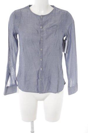 G-Star Raw Langarm-Bluse blau meliert Casual-Look