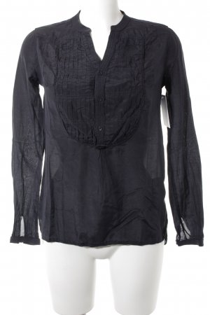 G-Star Raw Langarm-Bluse schwarz Casual-Look