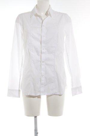G-Star Raw Langarm-Bluse weiß klassischer Stil