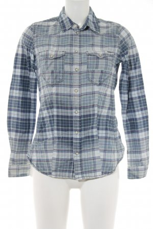 G-Star Raw Langarmhemd Karomuster Country-Look