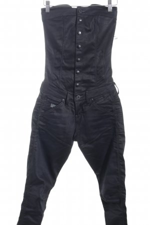G-Star Raw Salopette nero stile gotico