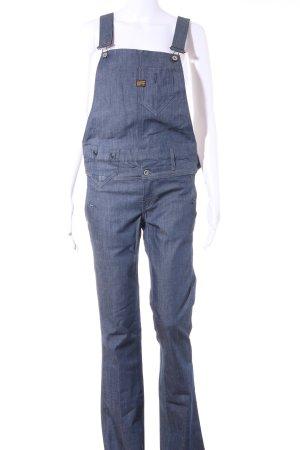 G-Star Raw Salopette en jeans bleu style décontracté
