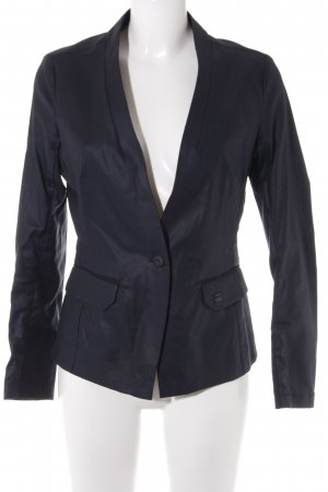 G-Star Raw Long-Blazer dunkelblau Business-Look