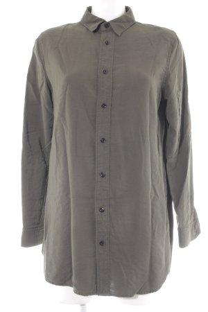 G-Star Raw Long-Bluse grüngrau schlichter Stil