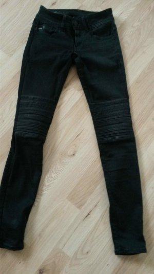 G-Star Raw, Lynn Mid Skinny Biker Jeans, 24/30