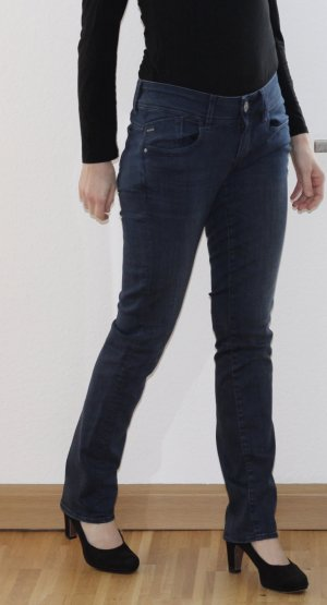 G-Star RAW Lynn Mid Waist Straight Jeans Dark Denim - neuwertig