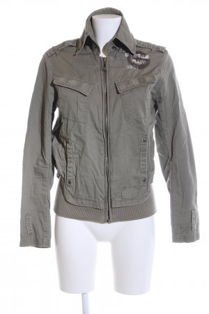 G-Star Raw Militaryjacke hellgrau Casual-Look