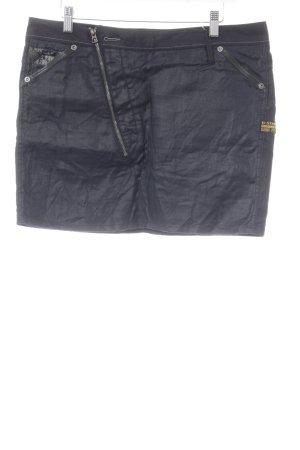 G-Star Raw Minirock dunkelblau-schwarz Casual-Look