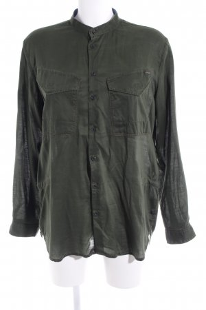 G-Star Raw Blusa taglie forti verde scuro stile casual