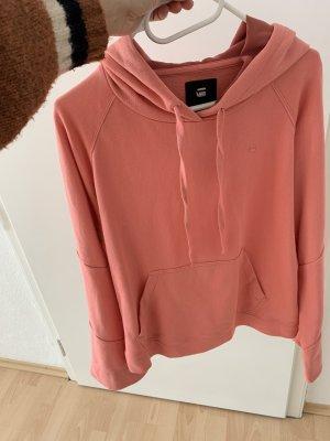 G-Star Raw Hooded Sweater salmon